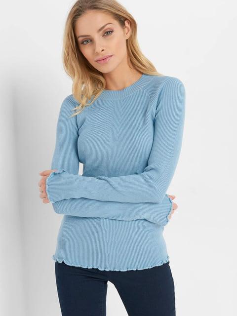Джемпер голубой Orsay 4793237