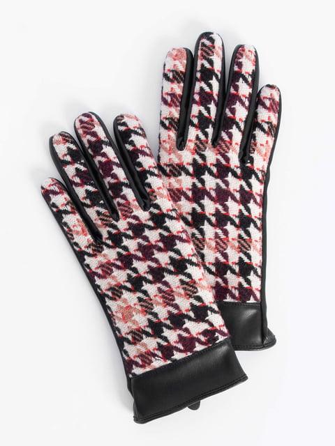 Перчатки черные Orsay 4793319