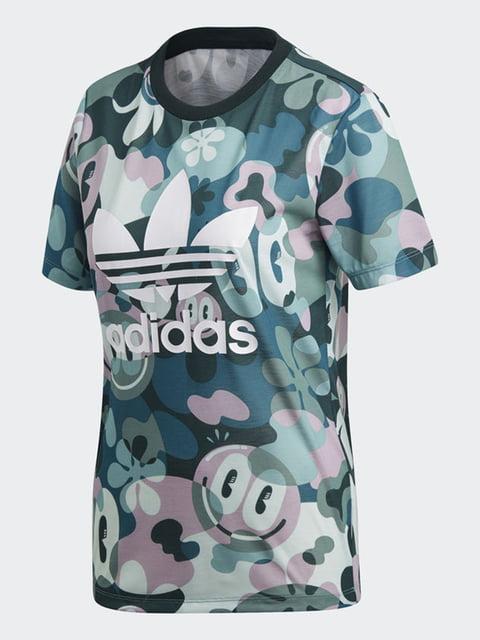 Футболка в принт Adidas Originals 4782428