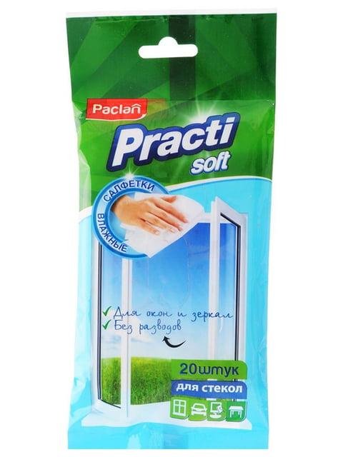 Влажные салфетки для стекла (20 шт.) PACLAN 4810402