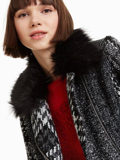 Куртка чорна Desigual 4708564