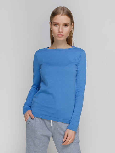 Джемпер блакитний Arber 4695288