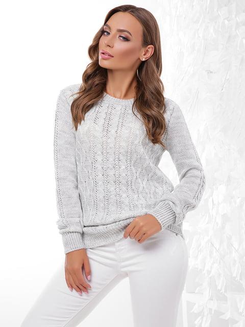 Джемпер светло-серый MarSe 4815730