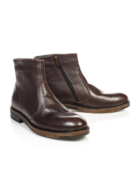 Черевики коричневі NUBE 4809486