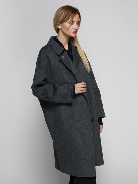 Пальто серое Mango 4790400