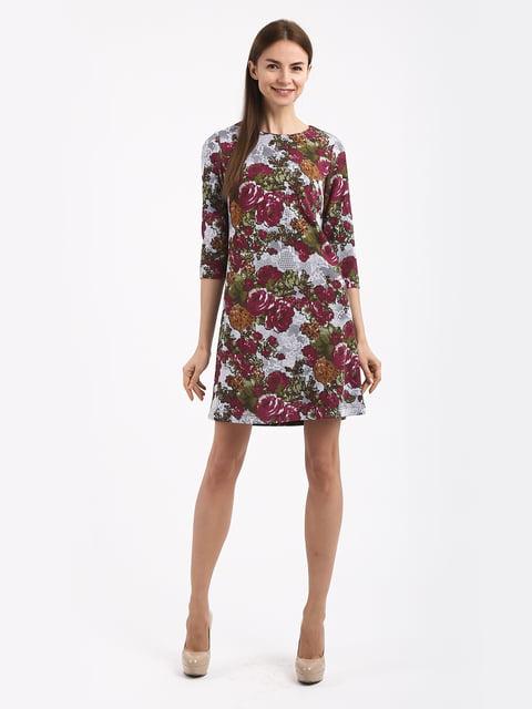 Платье в цветочный принт Jet 4817075