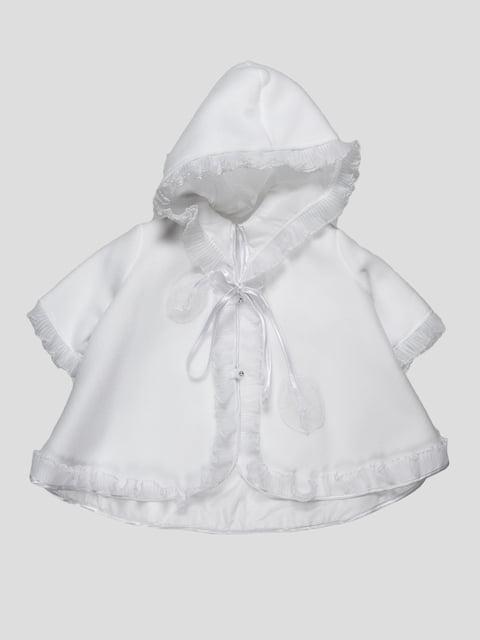 Плащ белый Carpe Diem 1535214
