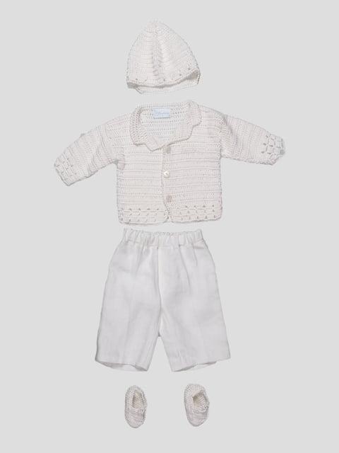 Комплект: кофта, штани та шапочка Jozefinka 1651592