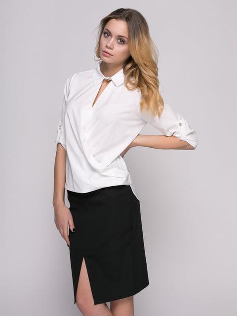 Блуза молочного цвета Zubrytskaya 4817179