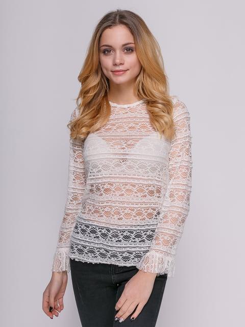 Блуза біла Mango 4789457