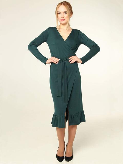 Платье зеленое MOONLIGHT 4821022
