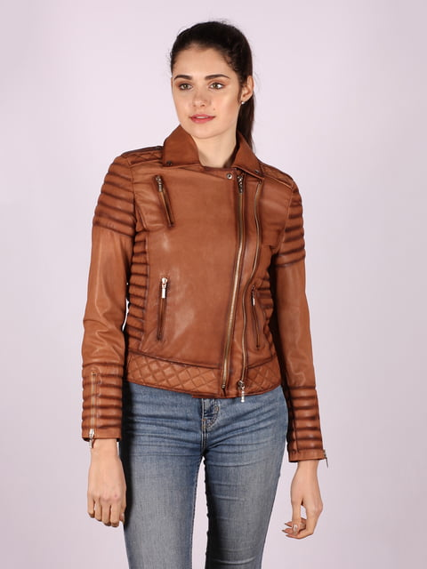 Куртка коричневая Jakko 4822640