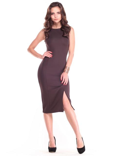 Платье шоколадного цвета Laura Bettini 4807562