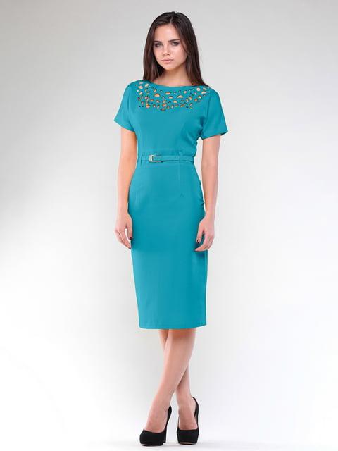 Сукня бірюзова Maurini 4807746