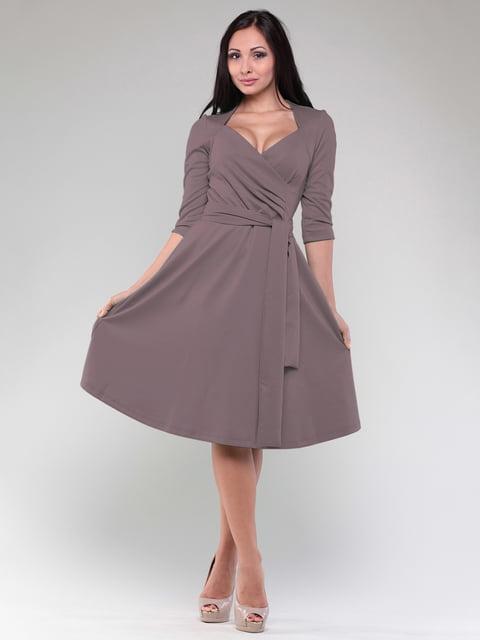 Сукня кольору темний мокко Maurini 4807791