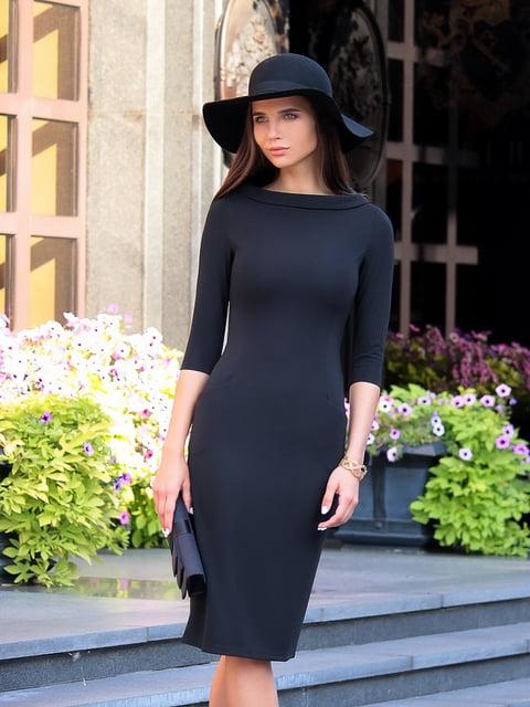 Платье черное Laura Bettini 4821235