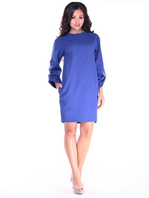 Платье цвета электрик Dioni 4821245