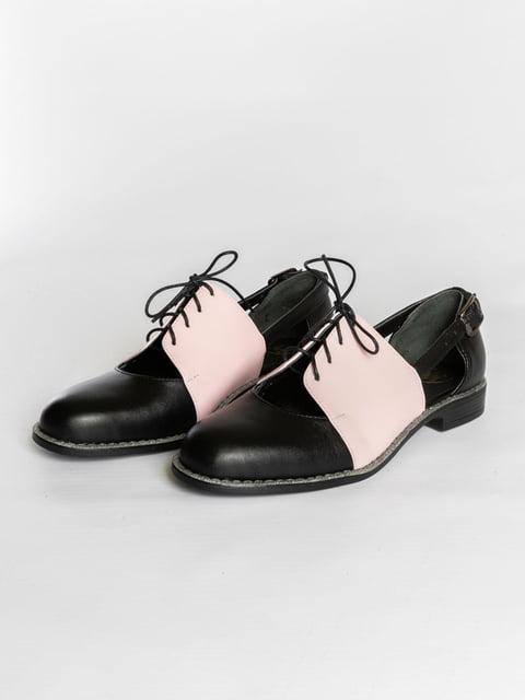 Туфли двухцветные АМ 4822550