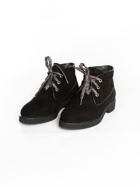 Ботинки черные АМ 4822575