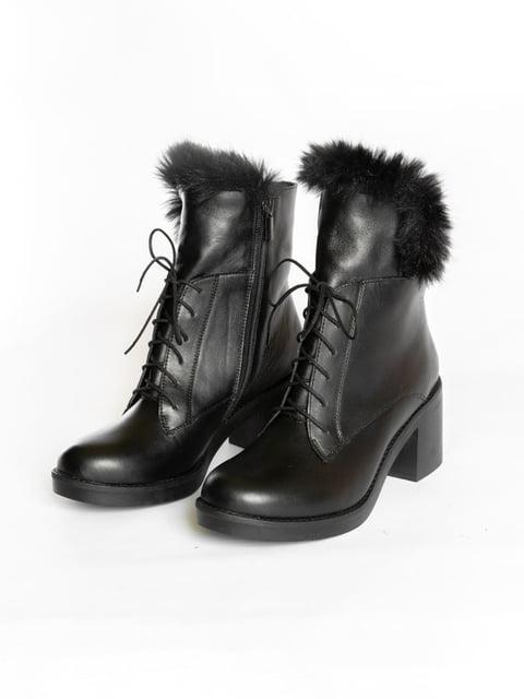 Ботинки черные АМ 4822595