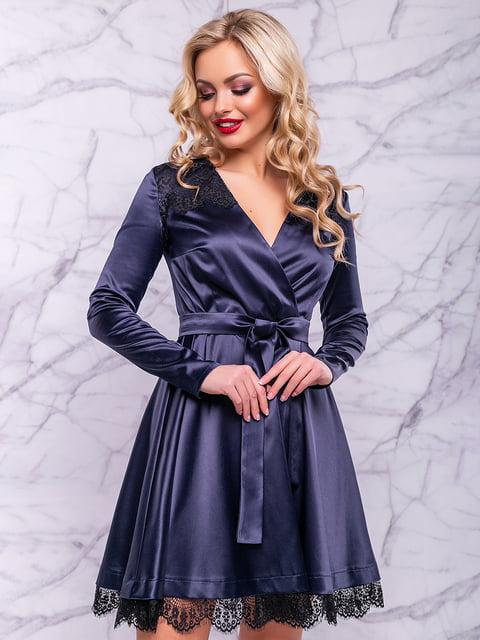 Сукня темно-синя Seventeen 4822911