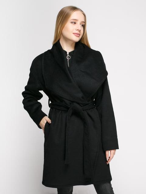 Пальто черное Mango 4790350