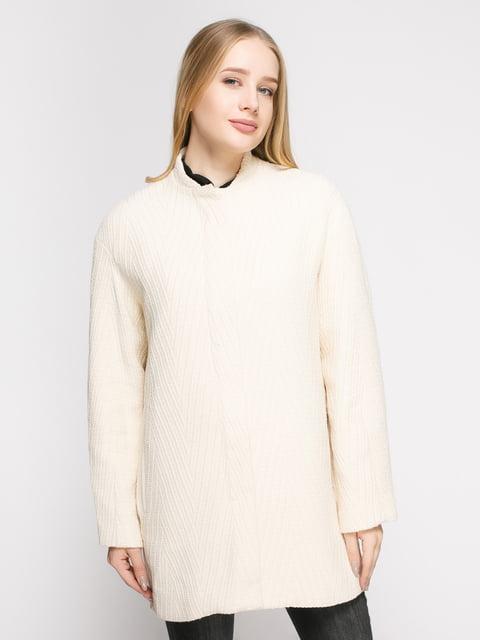 Пальто молочное Mango 4790550