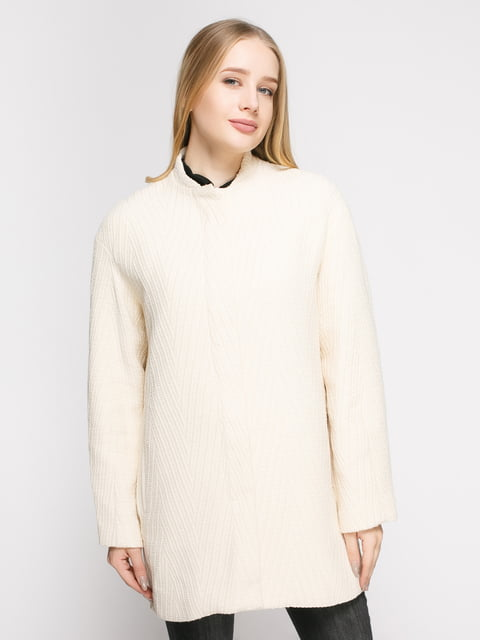 Пальто молочне Mango 4790550