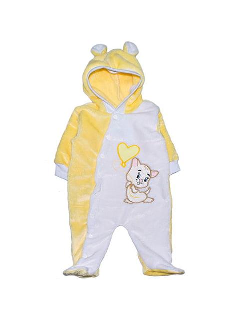 Чоловічок жовто-білий Малыш 4823997