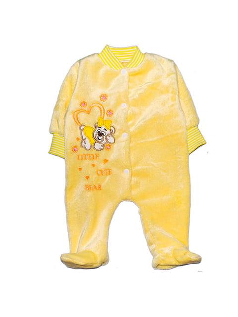 Чоловічок жовтий Малыш 4824000