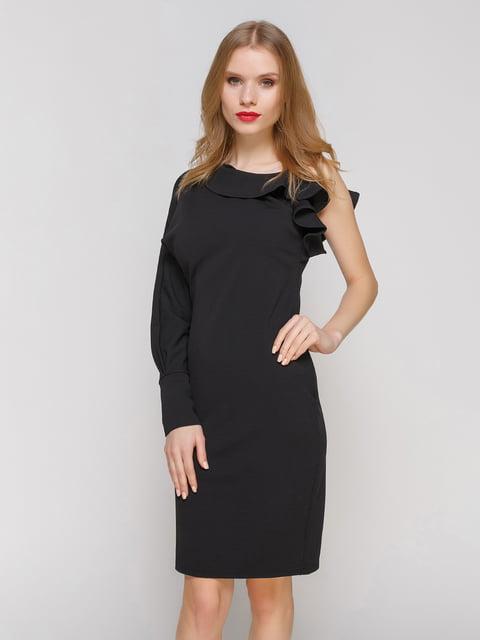 Сукня чорна на одне плече CELEBRITY 2003596