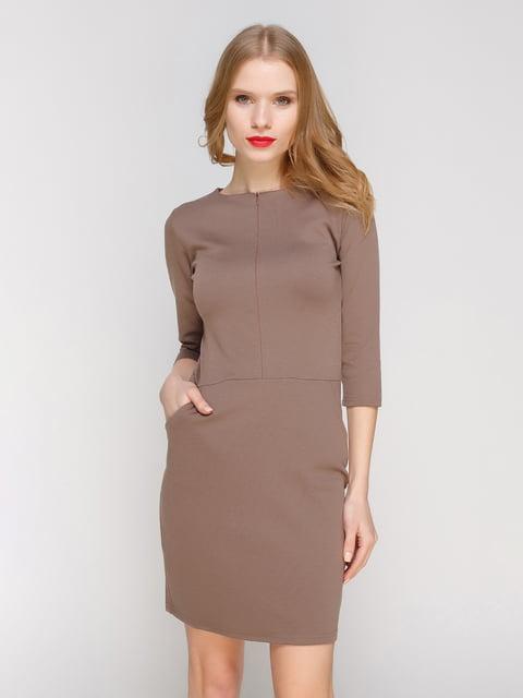 Сукня коричнева CELEBRITY 2056259
