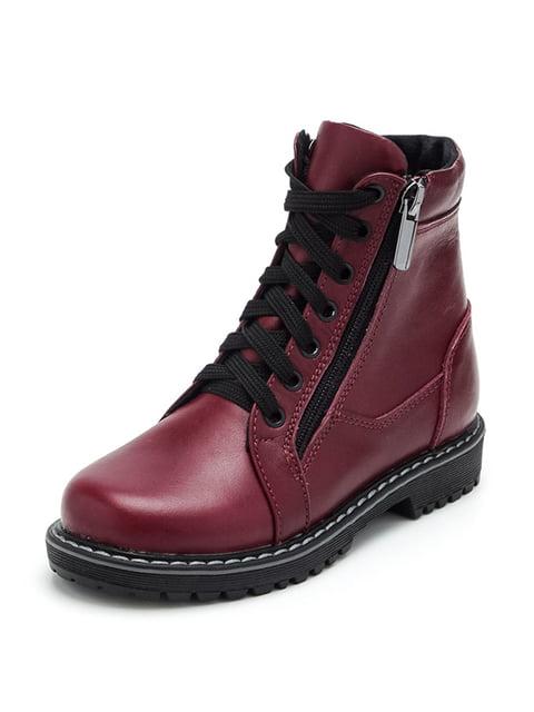 Ботинки бордовые Tops 4824288