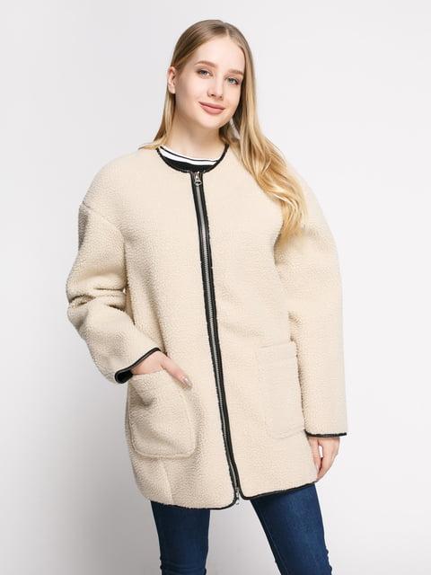 Пальто светло-бежевое Mango 4808022