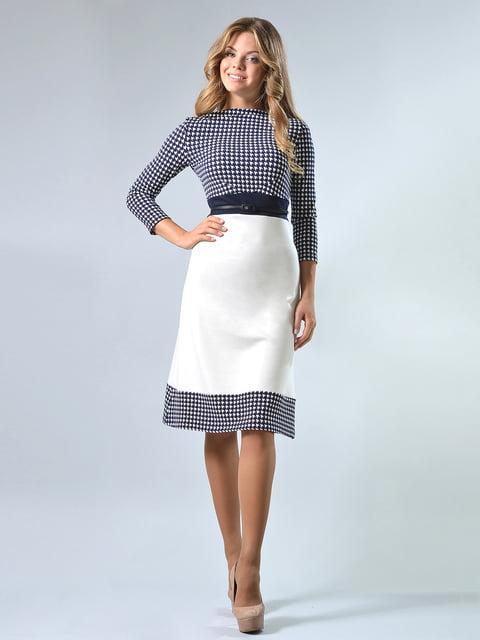 Платье в гусиную лапку LILA KASS 4825269