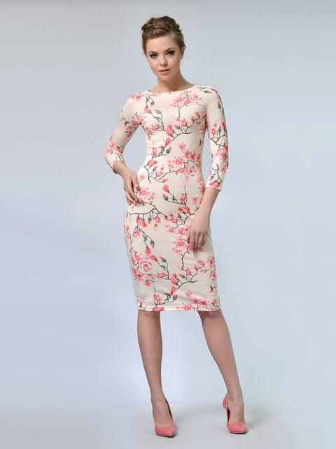 Платье в цветочный принт LILA KASS 4825313