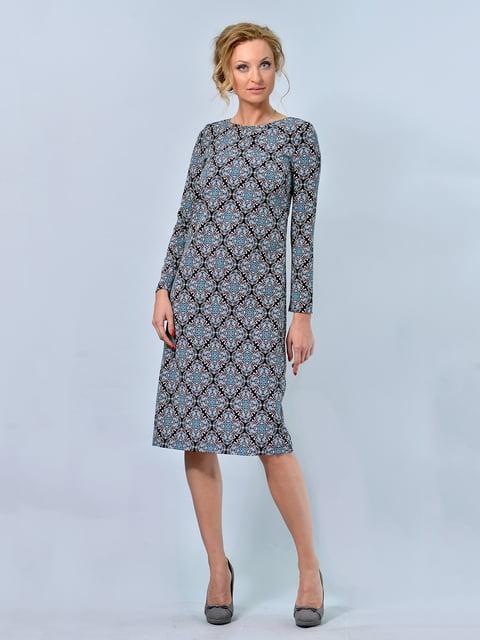 Платье в принт LILA KASS 4825287