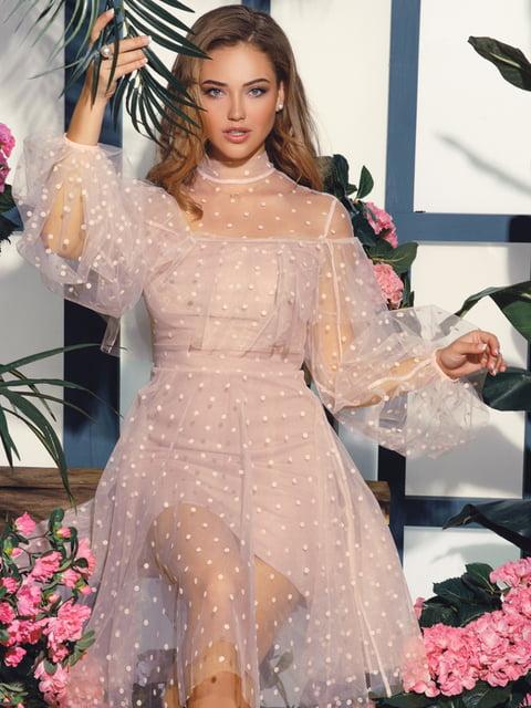 Платье розовое Gepur 4825667