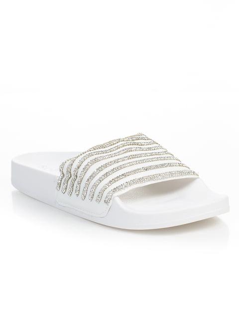 Шлепанцы белые Sopra 4826059