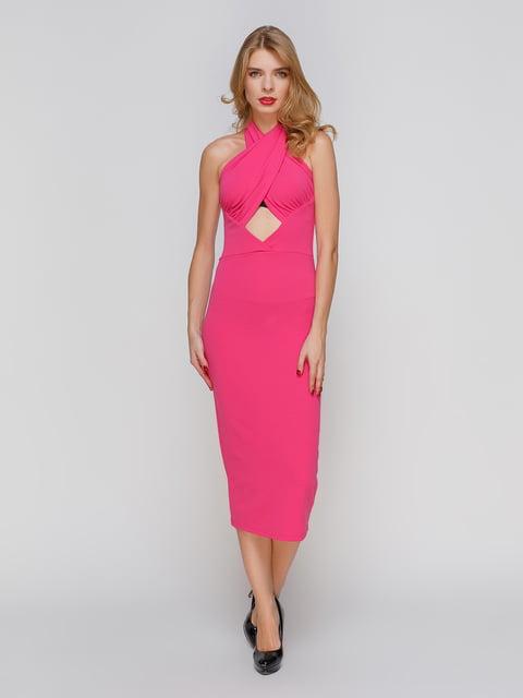 Сукня малинового кольору CELEBRITY 2121401