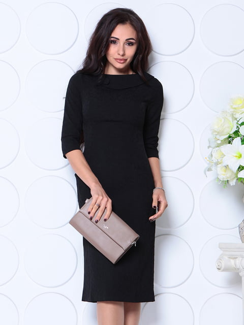 Платье черное Laura Bettini 4813850
