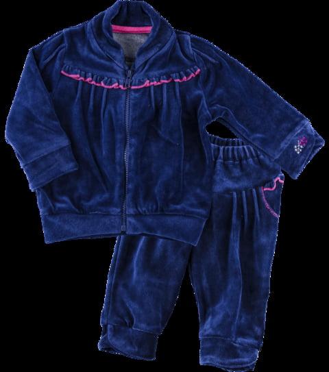 Комплект велюровий: кофта і штани Ля-Ля 4826297