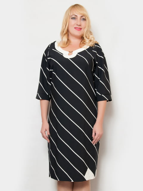 Платье темно-синее в полоску LibeAmore 4724320