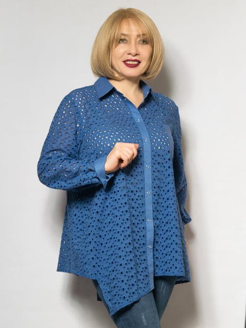 Рубашка цвета электрик LibeAmore 4827351