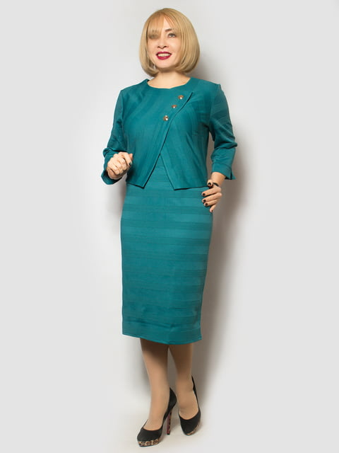 Платье бирюзовое LibeAmore 4827388