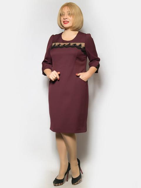 Сукня бордова LibeAmore 4827404