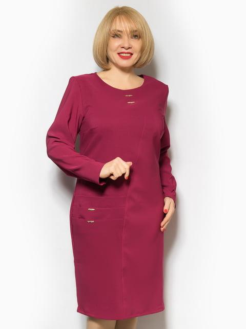 Платье бордовое LibeAmore 4827412