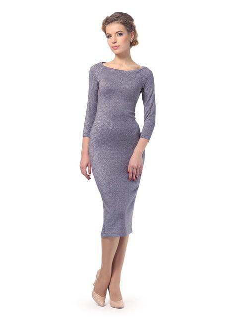Платье серое LILA KASS 4827002
