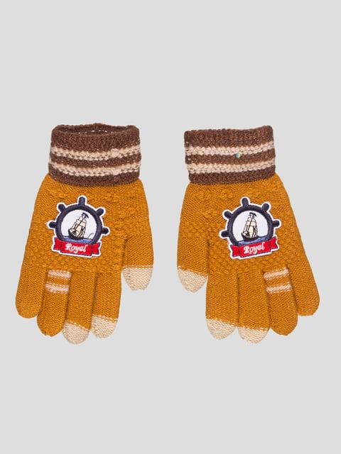 Перчатки коричневые GLOVE 4808935