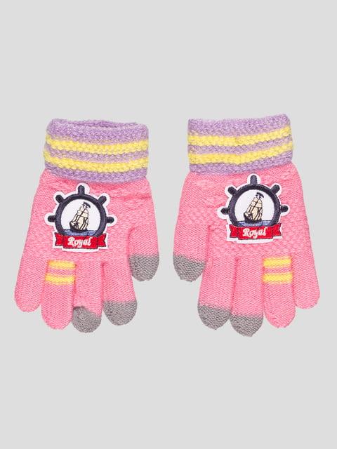 Перчатки розовые GLOVE 4808933